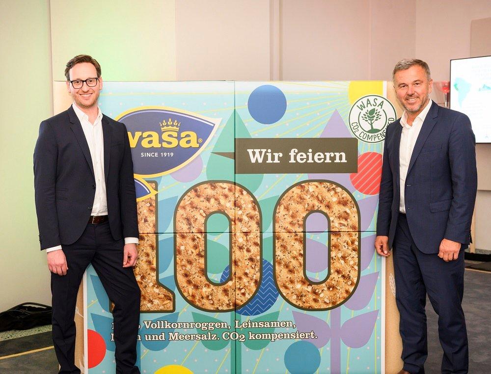 Ronen Dimant und Claus Butterwegge auf dem Barilla Insieme Day in Berlin.