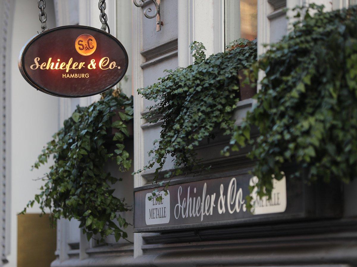 Das Gebäude in der Ellmenreichstraße 24 ist nicht zu verfehlen.