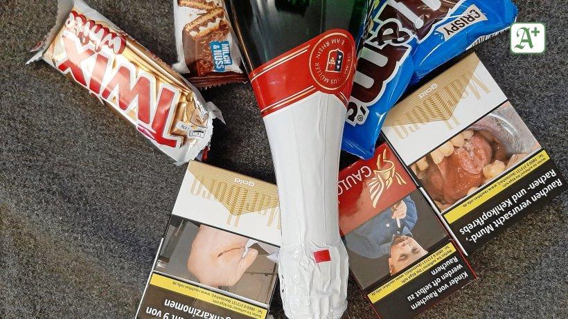 Professor: Ekelbilder sollten auch vor Süßigkeiten warnen