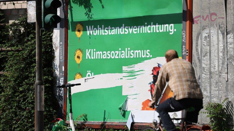 Anti-Grünen-Plakate: Dahinter steckt eine Hamburger Firma