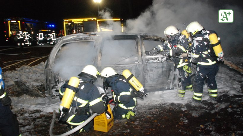 E Auto Explodiert