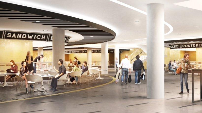 neue city passage der hsh nordbank mit viel gastronomie. Black Bedroom Furniture Sets. Home Design Ideas