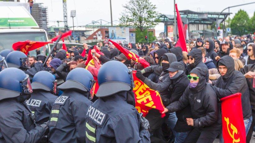 Ausschreitungen Hamburg Heute