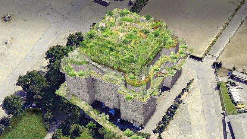 Konzept f r bunker stadtgarten soll im herbst stehen - Stadtgarten hamburg ...
