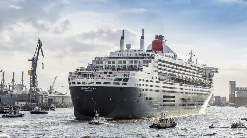 Die queen mary 2 dockt am freitag in hamburg ein for Queen mary 2 interieur