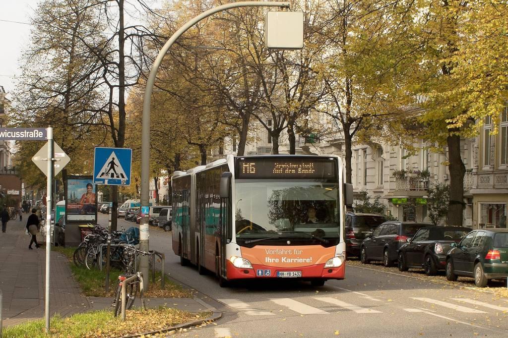 aufatmen im metrobus 6: endlich keine umleitung mehr - hamburg-nord