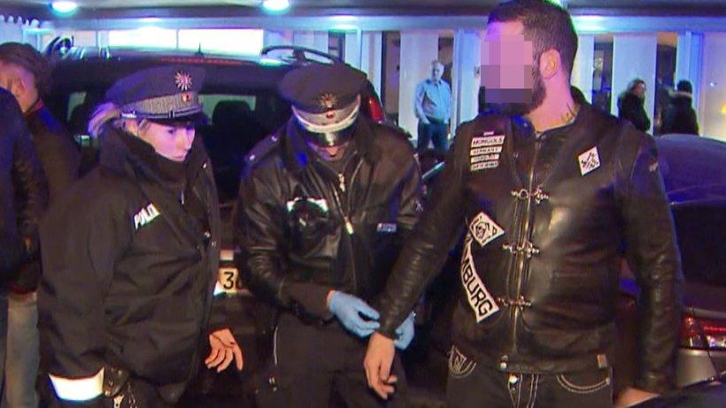 waffenschmuggel  soko rocker verhaftet mongols