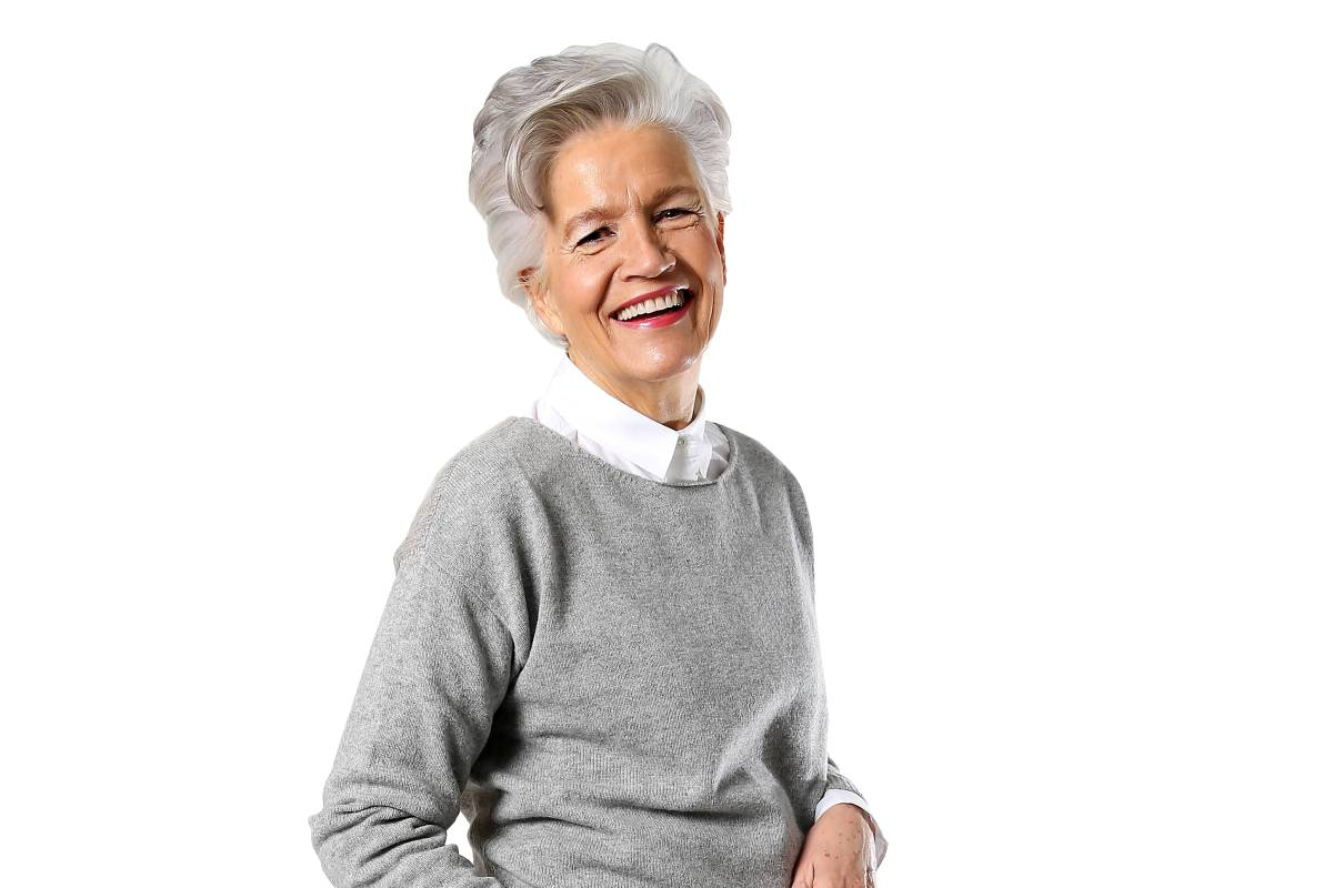 Greta Silver Ist Eine Werbe Ikone Mit 67 Jahren Hamburger