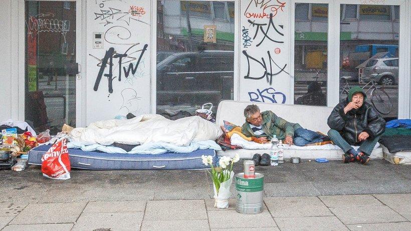 Obdachlose Hamburg