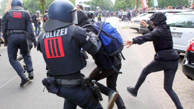 """G20 in Hamburg: Aufarbeitung der Krawalle dauert bis 2018 – """"Mammutaufgabe"""""""