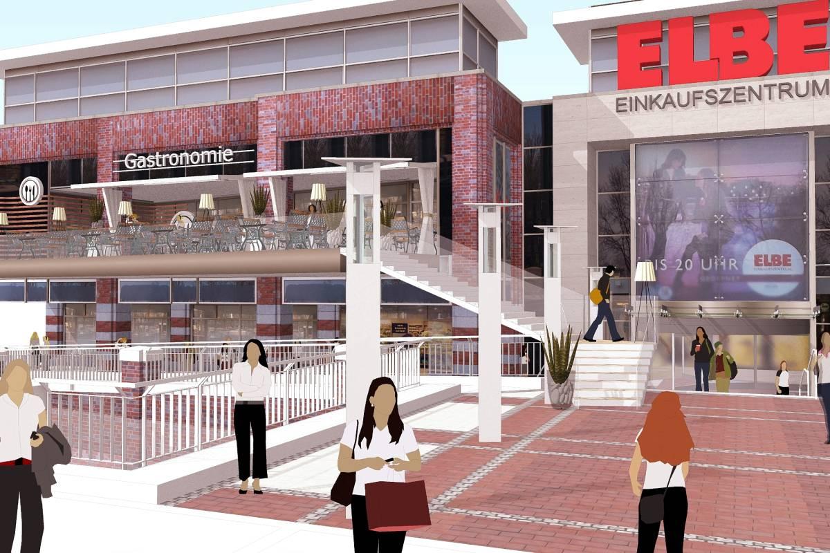 edeka elbe einkaufszentrum