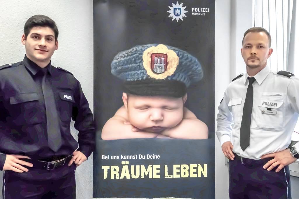 Was Steckt Hinter Der Süßen Werbekampagne Der Polizei Hamburg