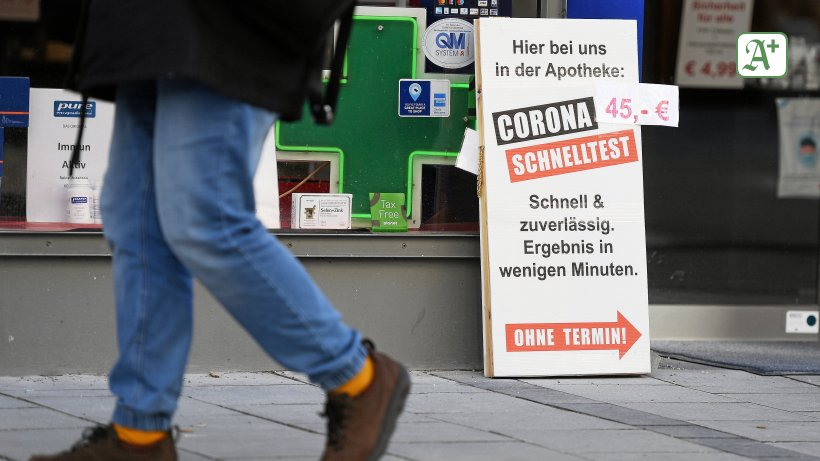 Schnelltests: Bislang sind 16 Hamburger Apotheken dabei - Hamburger Abendblatt