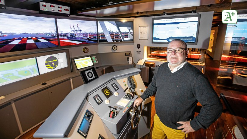 Schiffe: Wo jedermann einen Ozeanriesen lenken kann