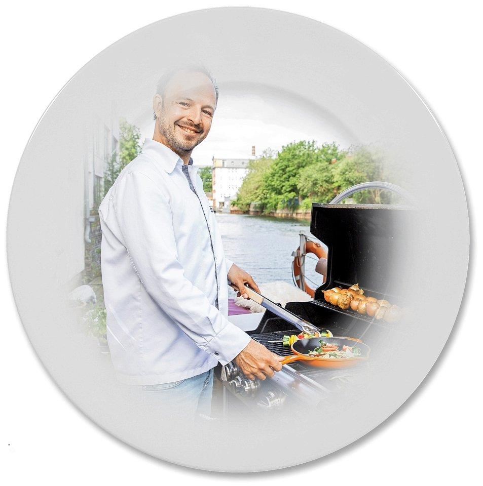 """""""Ohne Hamburger Gäste wird ein Restaurant nicht überleben"""", sagt Thomas Sampl, Koch und einer der Chefs in der Hobenköök."""
