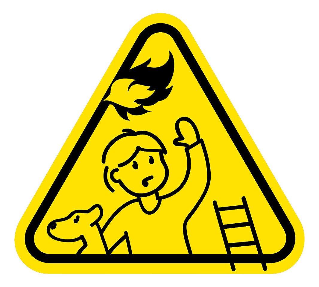 So sieht der Aufkleber für die Kinderzimmertüraus.