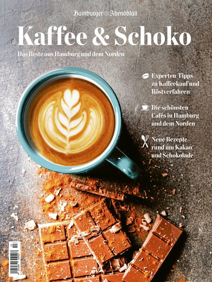 """Das Abendblatt-Magazin """"Kaffee & Schoko"""" hat 108 Seiten.  Es kostet 9 Euro,  Abonnenten  bekommen es beim Direktkauf für 7 Euro."""