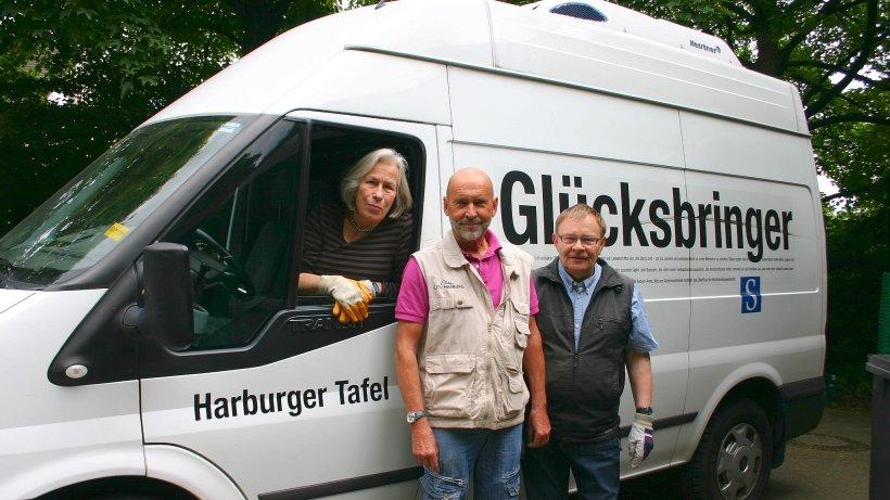 Großer flüchtlingsansturm bei der harburger tafel hamburg