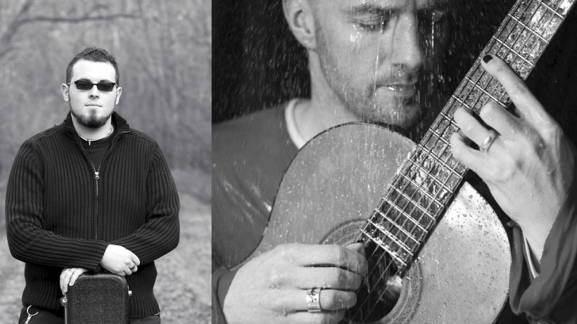 """Die Singer/Songwriter """"Der Tagträumer"""" (Malte Storjohann, l.) und"""