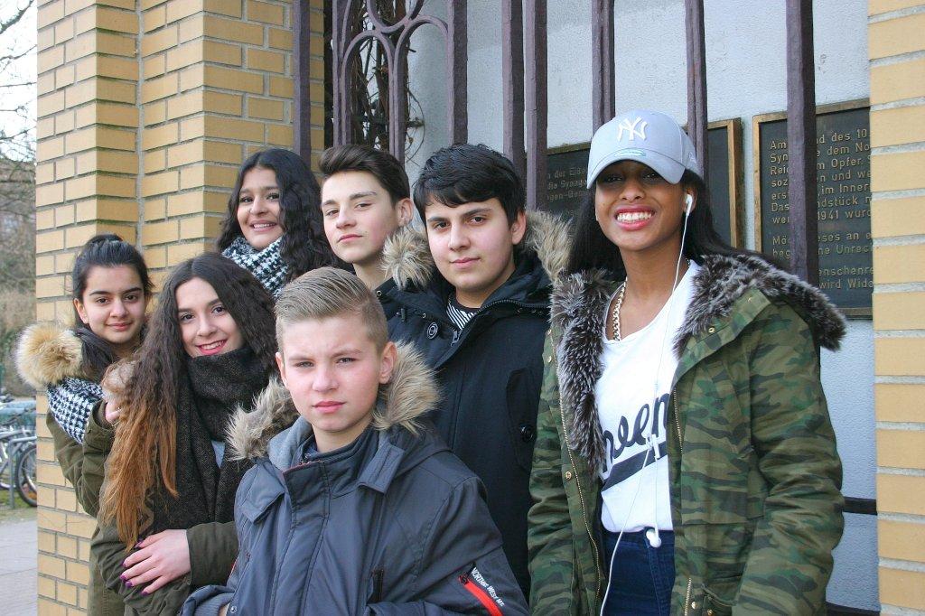 Goethe Schule Harburg harburger schüler ergründen jüdisches leben hamburg harburg