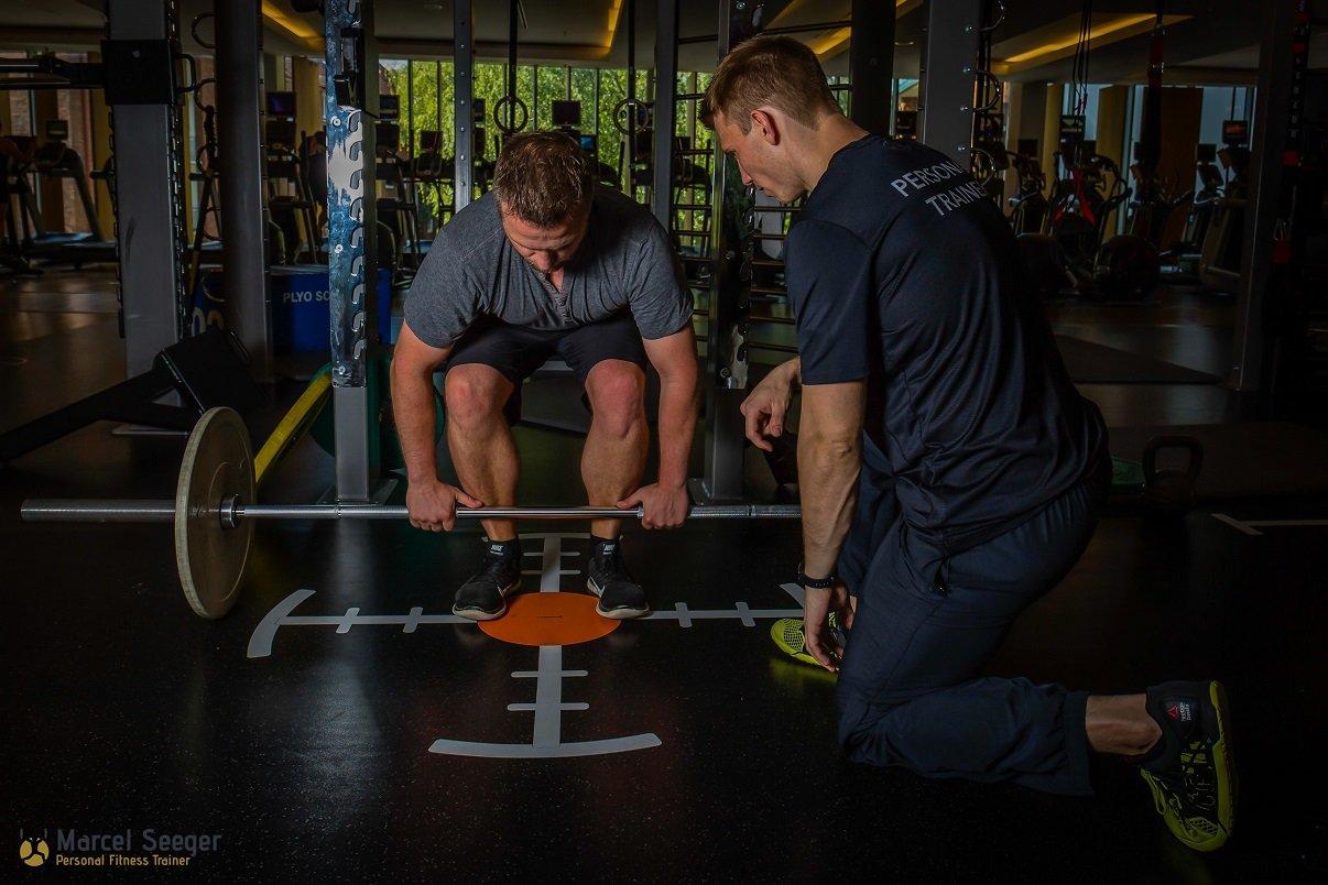 """Marcel Seeger bietet neben """"The Change Day"""" auch davon losgelöste Trainingsstunden als Personaltrainer und Ernährungscoach an."""