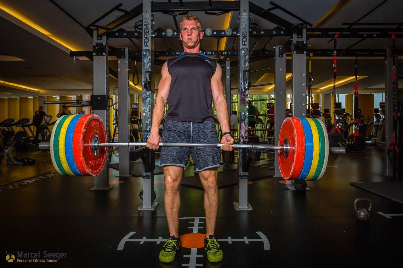Marcel Seeger, Personal Fitness Trainer und Ernährungscoach