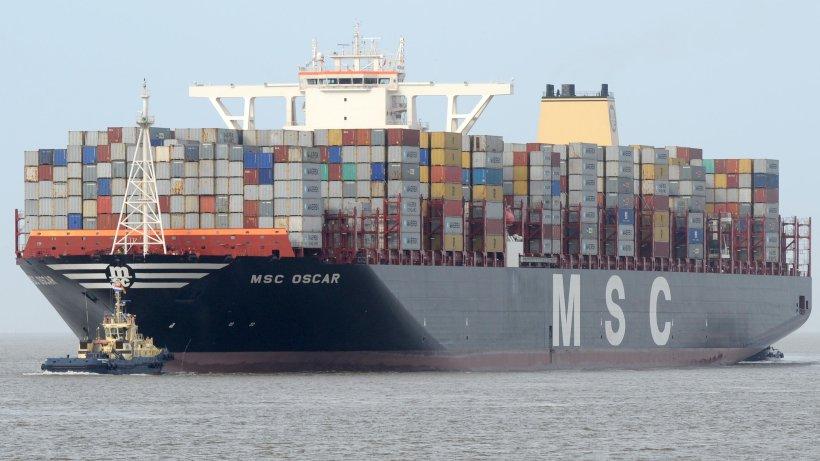 gr u00f6 u00dftes containerschiff der welt kommt nach hamburg