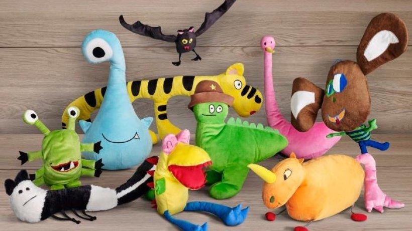 ikea macht aus kinderzeichnungen echte stofftiere aus aller welt hamburger abendblatt. Black Bedroom Furniture Sets. Home Design Ideas