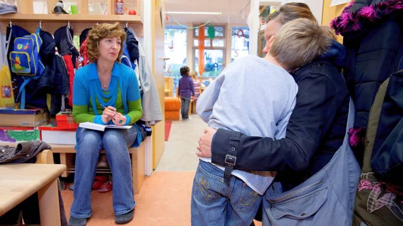 Wie Kinder Trennungsängste überwinden Können Ratgeber Hamburger