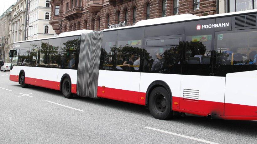 f nf verletzte nach vollbremsung von hochbahn bus hamburg aktuelle news aus den stadtteilen. Black Bedroom Furniture Sets. Home Design Ideas