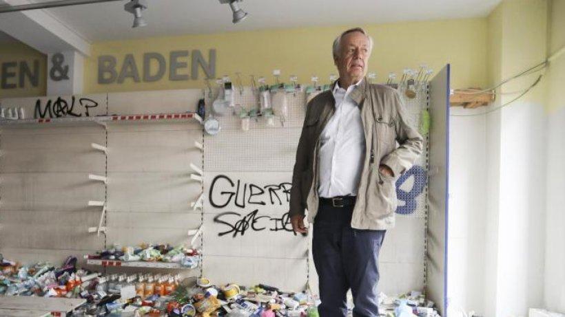 Budni-Chef erlebt Plünderung seines Marktes in der Schanze