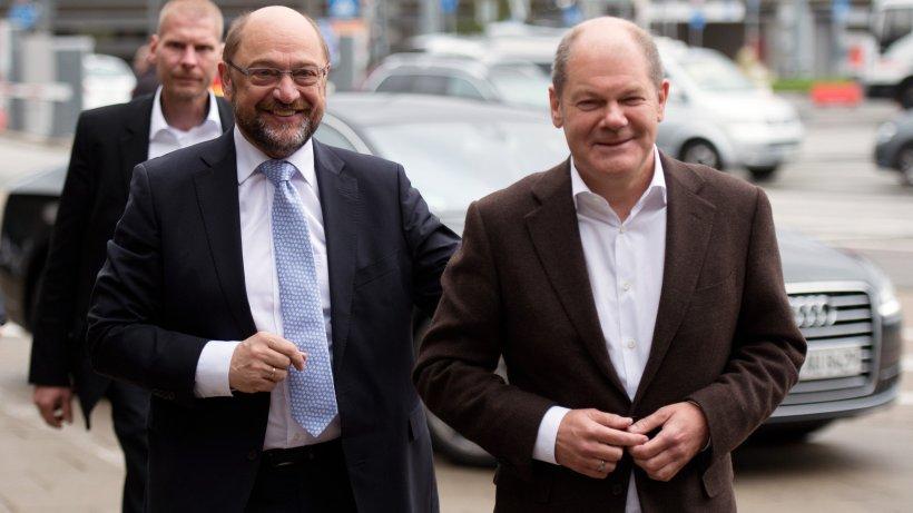 SPD-Regionalkonferenz: SPD arbeitet Wahlschlappe auf – Schulz lobt Scholz-Papier
