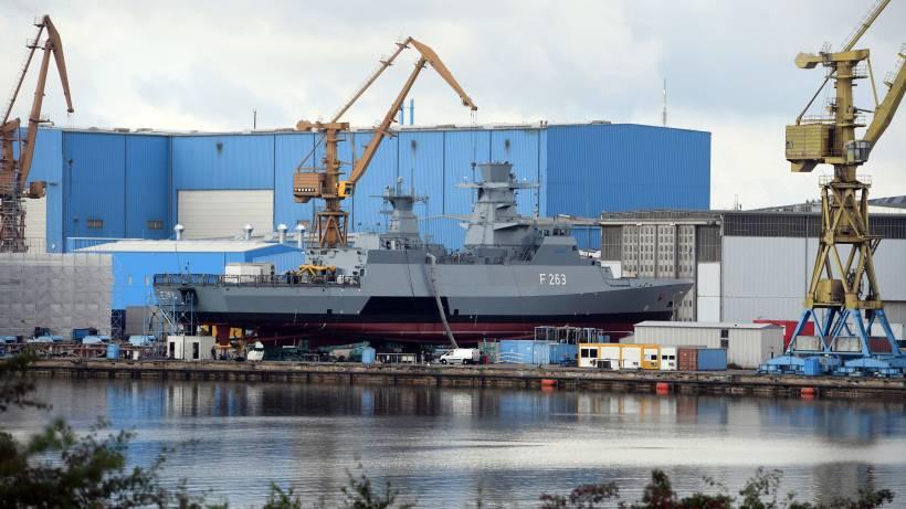 Wie Blohm Voss Vom Bau Neuer Korvetten Profitiert Hafen