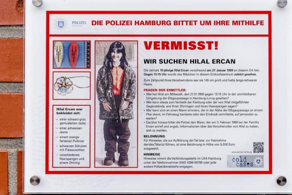 Neuer Zeugenaufruf Der Polizei Im Vermisstenfall Hilal Hamburg