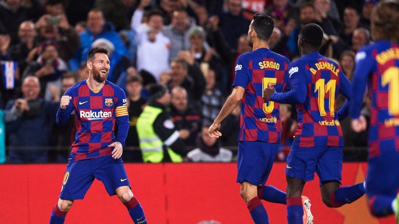 Im Video: Lionel Messi zaubert bei Sieg des FC Barcelona - Hamburger Abendblatt