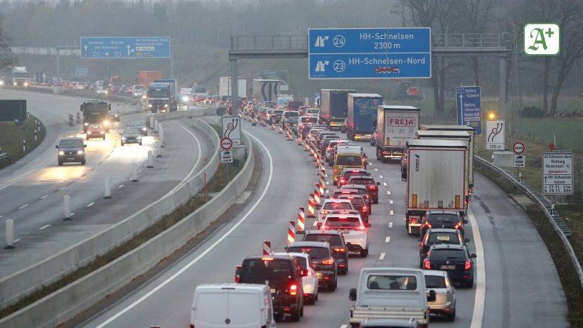 Verkehr Hamburg A7