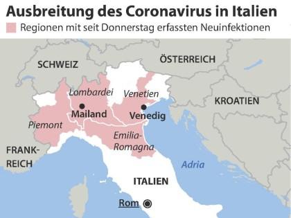 italien corona regionen