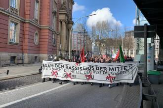 Bildergebnis für Samstag Demonstration Hamburg