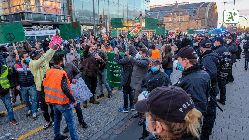 Islamisten Demo Hamburg