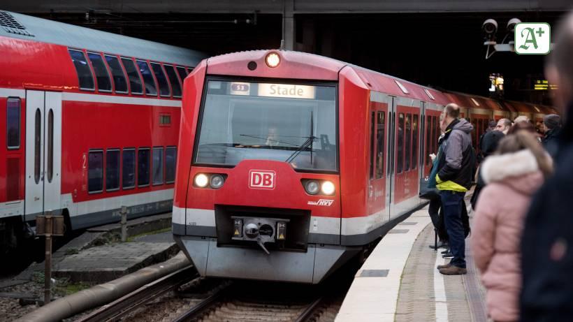 Nahverkehr: S-Bahn-Betrieb in Hamburgs Süden eingeschränkt