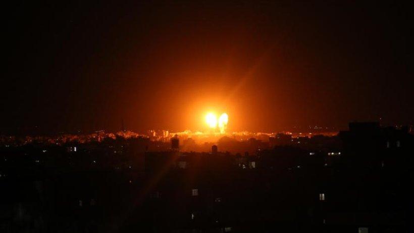 Israels Armee beschießt nach Angriffen Hamas-Stützpunkt