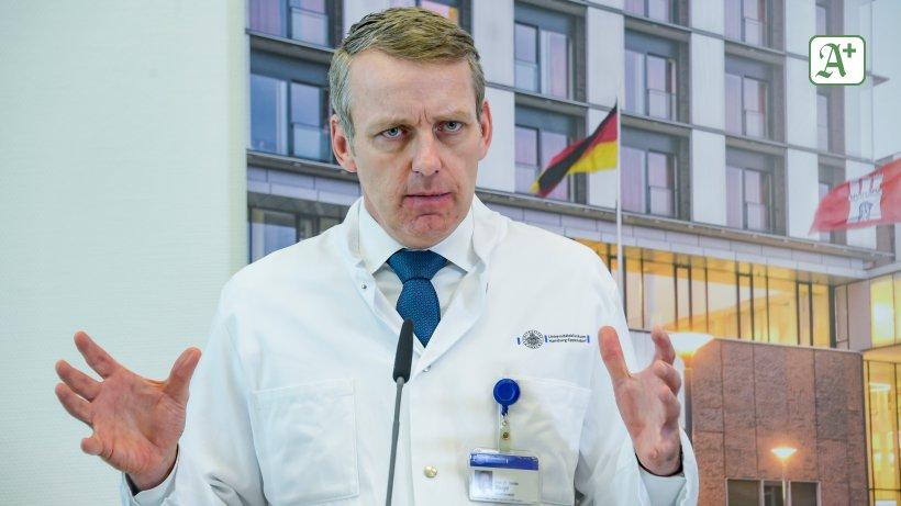 Pandemie: UKE-Chefarzt fordert Umdenken im Kampf gegen Corona