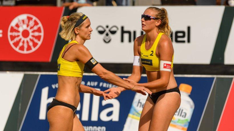 Laura Ludwig mit neuer Partnerin im Viertelfinale