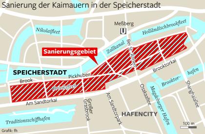 Außergewöhnlich So teuer wird die Sanierung der Speicherstadt - Hamburg - Aktuelle #YG_65