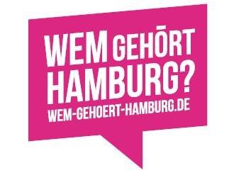 Wem gehört Hamburg? Das Logo der Aktion von Correctiv und dem Hamburger Abendblatt