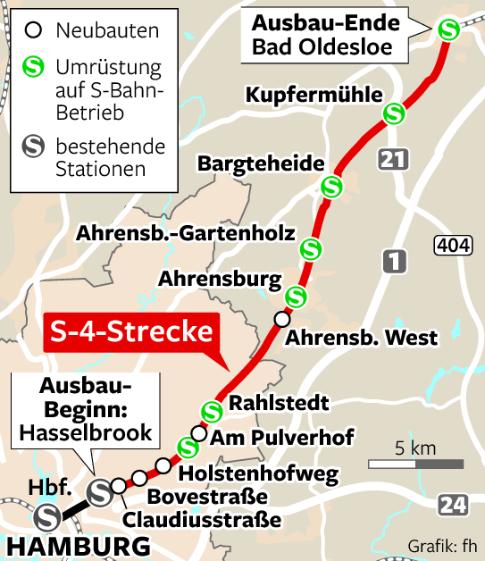 Hamburg Hauptbahnhof Karte.Hauptbahnhof Bekommt Neuen Bahnsteig Geldspritze Für S4 Hamburg