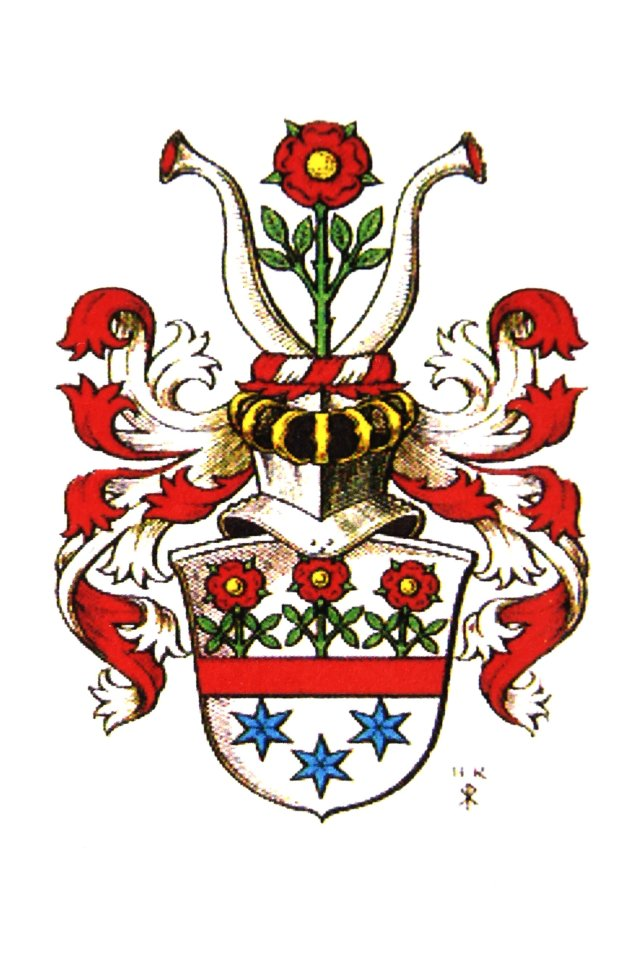Das Wappen der Familie von Schröder.