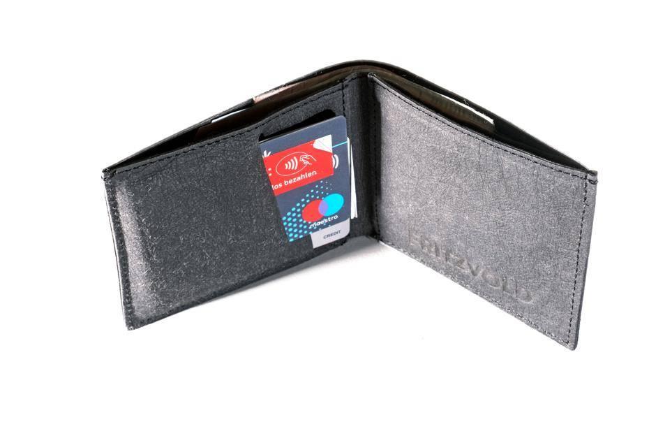 e5910e15a9a61 Das Minimal Wallet ist eine der insgesamt vier Geldbörsen von Fritzvold aus  Hamburg.