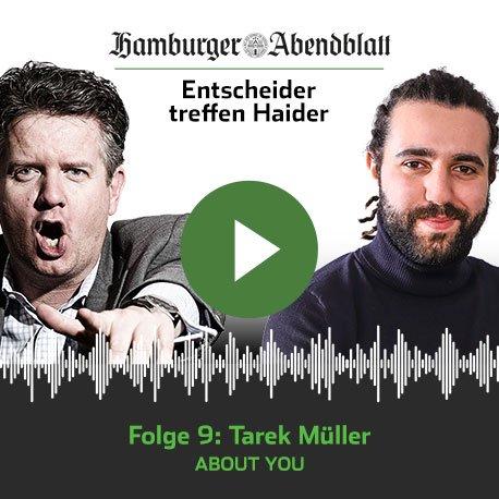 Alles begann mit Wasserpfeifen und einer E-Mail: Wie der heute 30 Jahre alte About You-Chef sein Modeunternehmen gründete. Für die Zukunft hegt Tarek Müller politische Ambitionen.