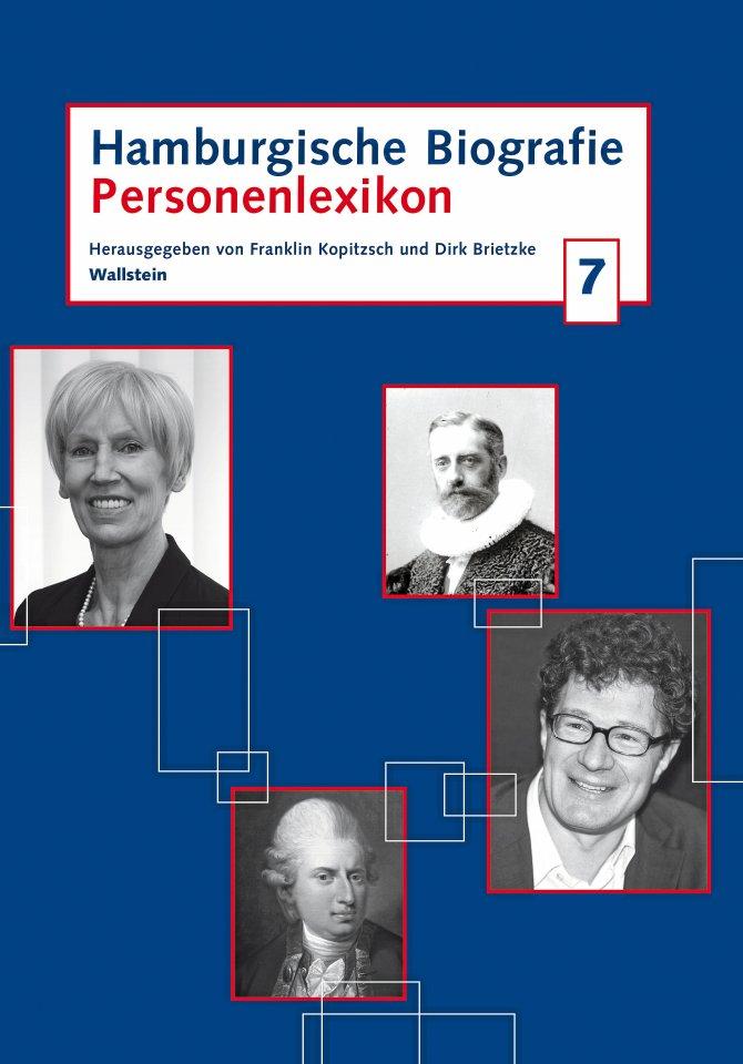 242 Porträts,  darunter das von Gustav Frenssen, stehen in der  Hamburgischen Biografie, Band 7. (500 Seiten,  32 Euro, Wallstein)